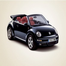 VW Beatle cabrio